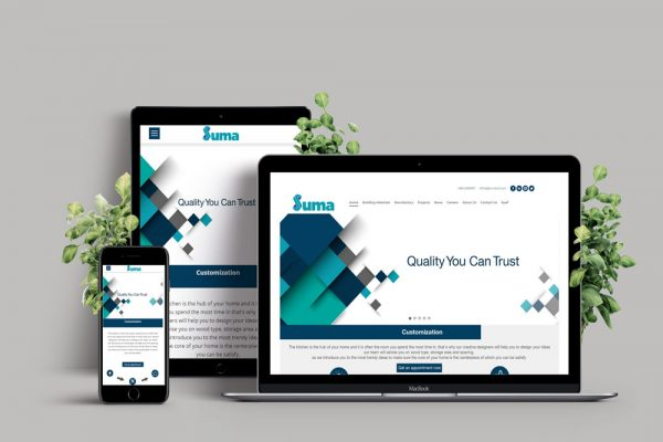 صمم موقع متجاوب بالكويت - مواقع - تصاميم